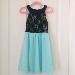 ✨2/$40✨ Roxette Girls' Turquoise Dress 👗